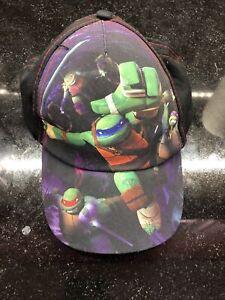 TMNT Teenage Mutant Ninja Turtles - Nickelodeon purple Youth snapback hat