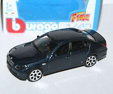 Burago - BMW 545i (Metallic Blue) - 'Street Fire' Model Scale 1:43