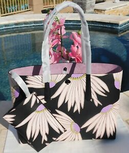🌸 NWT Kate Spade Molly Falling Flower Large Tote Leather with Pouch NEW $228