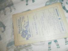 1961/2 DIV 4 MILWALL V BRADFORD CITY