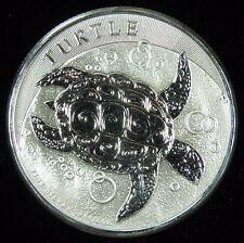 2016 Niue HAWKSBILL TURTLE 2 oz Silver .999 Ag $5 Coin BU Bullion Plastic Flip *