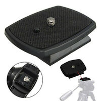 KQ_ Screw Adapter Tripod Quick Release Plate for Digital Camera DSLR SLR Parts