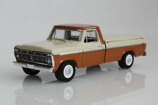 Ford F100 Ranger Pickup Truck 1973 w/ Bed Cover 1:64 Scale Diecast Model F-100