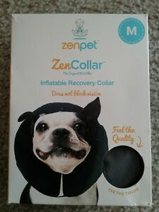 ZenPet Inflatable Recovery ZenCollar  Medium Damage Box
