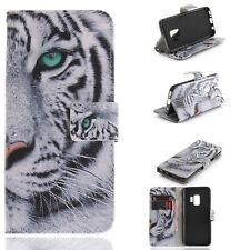 Tiger Magnetic PU Bracket Flip Case Cover Wallet For Samsung S20 A60 A70 A80 A90