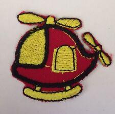 Hubschrauber Kinder Erwachsene Aufnäher Bügelbild Patch Applikation 02