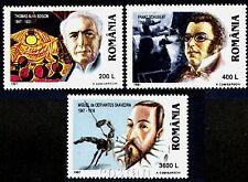 1997 Cervantes,Edison,Electric light bulb,Schubert,composer,Romania,Mi.5239,MNH