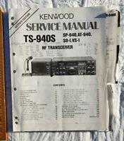 Kenwood TS-940 SAT TS-940S Factory OEM Service Manual SP 940 AT 940 Ham Radio