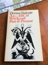 An ABC Of Witchcraft Past & Present By Doreen Valiante 1973