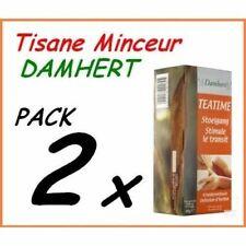 2 Boites Tisane Laxative Régime Damhert Thé Minceur Détoxifiant Maigrir