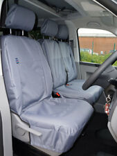 Volkswagen Transport T4, T5, T6 Grey Fully Tailored Waterproof Seat Covers