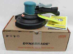 "DYNABRADE 58446 8"" Two Handed Gear Driven Sander 45HP 900RPM w/Vinyl Pad BNIB"