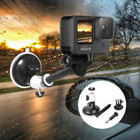 Car Holder Suction Cup Fixed Bracket Mount Adapter for Gopro Hero9 Sports Camera