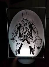 Friday the 13th jason Color Changing LED Desk Table night Light Lamp Remot