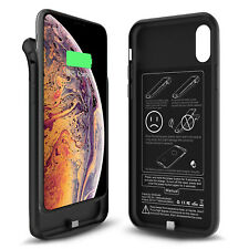 External Battery Case Extend Backup for Charging & Protect iPhone XS Max 6000mAh
