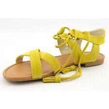 Steve Madden Darlynn Women US 9 Yellow Gladiator Sandal Defect  19987