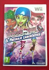 Monster High: El Patinaje Laberíntico - NINTENDO Wii - NUEVO