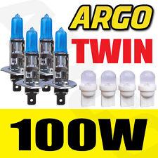 H1 XENON ICE WHITE 100W BULBS MAIN BEAM 12V HEADLIGHT HEADLAMP HID LIGHT 448 x4