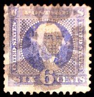 CatalinaStamps:  US Stamp #115 Used, SCV=$200