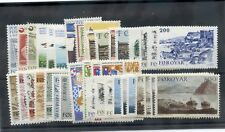 Faroe Is 1976-1985 39 Different*F-Vf Nh (All In Sets+One Single) $60