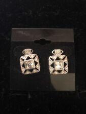 "Toned Earrings $38 (Dc) Premier Designs ""Memoir"" Silver"