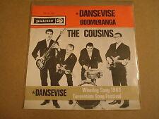 45T SINGLE / THE COUSINS - DANSEVISE ( EUROVISION SONG FESTIVAL 1963 )