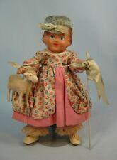 Vintage Arranbee R & B Storybook Doll w/ Lamb Little Bo Peep All Original