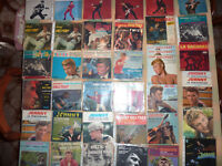 ma collection lot 100 vinyles 45T johnny hallyday dont son premier disque