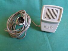 Microfono Vintage d'epoca LESA Registratori MIC Suono Buone condizioni MICROPHON