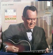 Don Gibson With Spanish Guitars LSP-3594 Lp Record EUC RCA Dynagroove