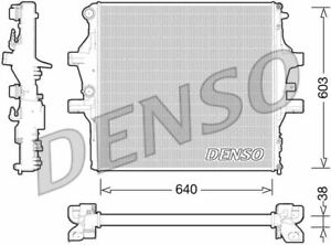 DENSO ENGINE COOLING RADIATOR FOR ANNO IVECO DAILY BOX 3.0 150KW