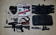 New Tippmann A-5 Paintball Gun Marker Set With 2 Co2 Tanks, Mask, Case, More!