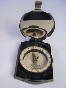 2 WK Originaler BUSCH Rathenow Kompass vor 1945
