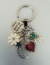 You Mean The World To Me Keyring