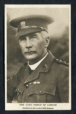 """C1915 View of the Lord Bishop of London """"Chaplain to the London Rifle Brigade"""""""