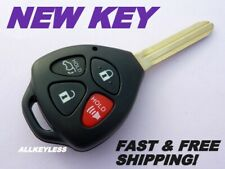 "TOYOTA VENZA key keyless entry remote fob transmitter GQ4-29T ""G"" chip *NEW KEY"