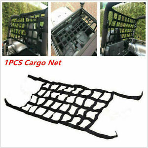 1x Cargo Net Roof Back Window Extra Storage Restraint For Jeep Wrangler TJ JK