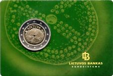 2 EURO COMMÉMORATIVE DE LITUANIE 2016 BRILLANT UNIVERSEL (BU) - LA CULTURE BALTE