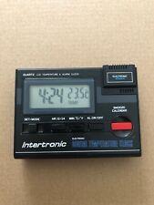 Intertronic Digital temperature clock