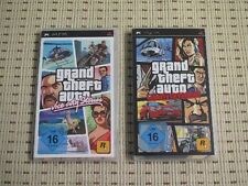 GTA Grand theft auto double pack vice city stories + Liberty City pour sony psp