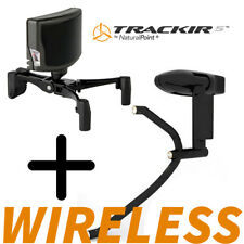 TrackIR 5 Bundle + WIRELESS TrackClip Pro Natural Point Head Tracking Gaming New