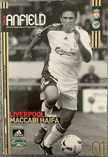 LIVERPOOL V MACCABI HAIFA UEFA CHAMPIONS LEAGUE QUALIFIER 2006/07 & TEAM SHEET
