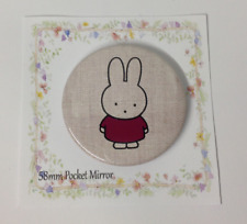 Pocket Mirror Miffy Inspired  Bag Makeup Purse Travel Birthday Party Filler