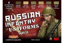 LifeColor CS42 Camouflage Set Russian Infantry Uniforms WWI