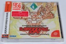 Cyber Troopers Virtual en oratario Tangram Sega Dreamcast Japan Nuevo Sellado