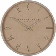 """Thomas Kent 12"""" Nordic Tan Wall Clock"""