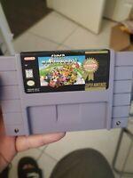Super Mario Kart - Authentic SNES Super Nintendo Game Tested Working ! authentic