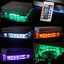 RGB LED USB Design Kühler Lüfter Fan Ständer Xbox One S Scorpio Zubehör Live IR