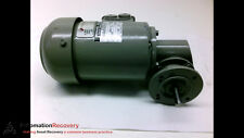 BAUER E2-20/DO44-141L-S MOTOR 3 PHASE, 230/400V, 1350 RPM, 50HZ #193391