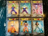 Dragon Ball Z Lot Of 6 Dragon Stars Action Figures NEW Rare Toy Collectibles